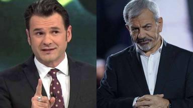 La agria polémica entre Iñaki López y Carlos Sobera que puede provocar una guerra entre Mediaset y Atremedia