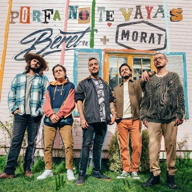 La banda colombiana Morat colabora por primera vez con el español Beret en el nuevo single Porfa No Te Vayas