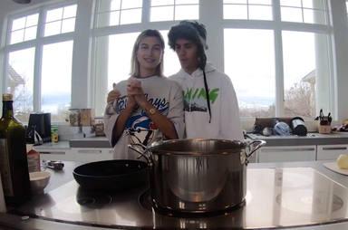 Los Biebers se unen a la estela que han seguido otros artistas de cocinar esta cuarenta