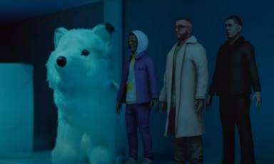 Manuel Turizo, Rauw Alejandro y Myke Tower lanzan 'La Nota' y se transforman en juguetes en su llamativo video