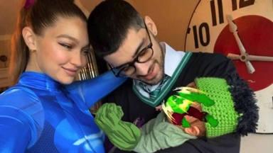 La entrañable primera imagen en familia de Gigi Hadid y Zayn Malin junto a su hija