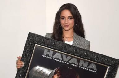Camila Cabello ya es Disco de Diamante: la artista hace historia gracias a su temazo 'Havana'