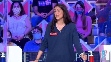 Jorge Fernández bromea con una concursante de La ruleta de la suerte tras un error mayúsculo