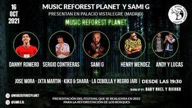Music Reforest Planet: Henry Méndez y Danny Romero se suman al festival que lucha por los bosques