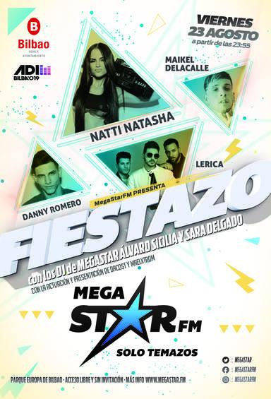 ¡Un nuevo Fiestazo Megastar llega a Bilbao!
