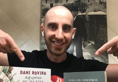 El motivador mensaje de Dani Rovira tras finalizar sus sesiones de quimioterapia