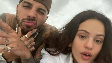 Rosalía y Rauw Alejandro confirman su relación a golpe de fotos y mensajes de amor en Instagram