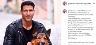 La rotunda declaración de intenciones con la que Gianmarco ha recibido el 2020