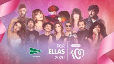 CADENA 100 Por Ellas completa el cartel de artistas para el festival solidario contra el cáncer de mama