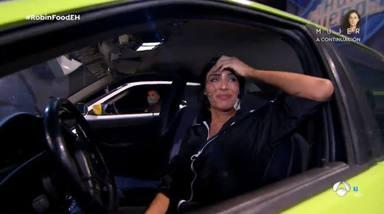 El accidente de Pilar Rubio en su reto deja serios desperfectos en el plató de El Hormiguero
