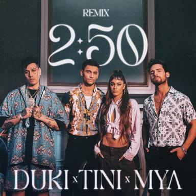 """El dúo argentino MYA presenta """"02:50"""" junto con los artistas latinos Tini y Duki"""