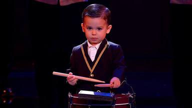 El regalo de Reyes más especial para 'Hugo Molina y su tambor', el ganador más pequeño de 'Got Talent'