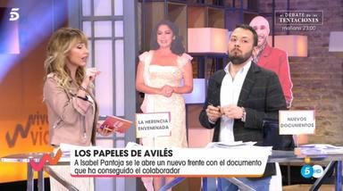 Emma García, en shock tras la arriesgada información desvelada por Avilés sobre Isabel Pantoja
