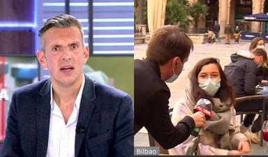 Joaquín Prat, en 'shock' tras lo sucedido con uno de sus reporteros en una terraza de Bilbao