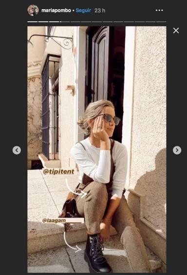 El último look de María Pombo que ha marcado tendencia en Instagram