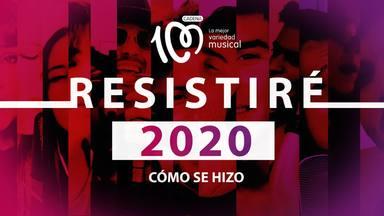 """CADENA 100 estrena el documental """"RESISTIRÉ 2020"""", la historia de cómo se creo el himno contra el coronavirus"""