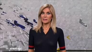 El momento más incómodo de Sandra Golpe en 'Antena 3 Noticias' que puede marcar su carrera televisiva
