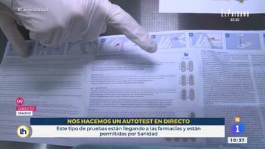 La confesión de Mónica López tras el test en directo de una reportera de TVE: Me estaba mareando