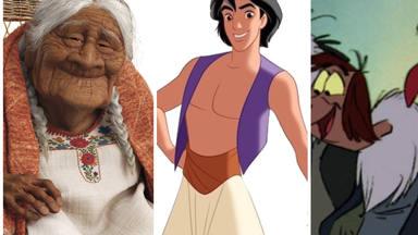¿Sabías que la Abuela de Coco es real y que Tom Cruise es Aladdin? Las personas que inspiraron a Disney
