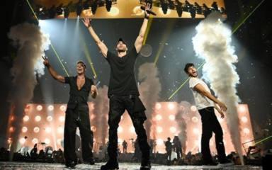 Sebastián Yatra invitado de lujo en el comienzo de la gira norteamericana de Enrique Iglesias y Ricky Martin
