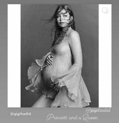 Un descuido de las hermanas de Gigi y Zayn confirma el sexo del bebé