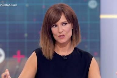 Mónica López, sin palabras después de un momento surrealista que ha obligado a parar el programa
