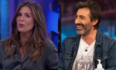 """Pablo Motos, sin palabras tras rajada de Juan del Val sobre Nuria Roca: """"Da la murga"""""""