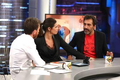 """El dardo envenenado de Juan del Val a Nuria Roca en directo en 'El Hormiguero': """"Si no se queda dormida..."""""""