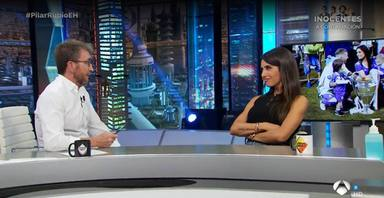 La sorpresa de Pilar Rubio ante la proposición de Pablo Motos en su visita de 'El Hormiguero'