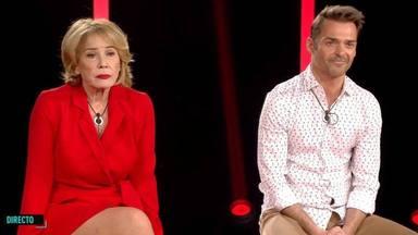 Las duras palabras de Mila Ximénez a Hugo Castrejón tras encontrarse en 'El tiempo del descuento'