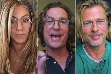 Matthew McConaughey habla de la química que hay entre Jennifer Aniston y Brad Pitt