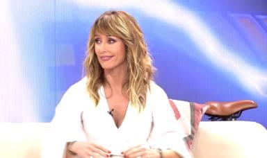 Emma García, en shock por unas sorprendentes imágenes sobre ella publicadas en 'Viva la Vida'