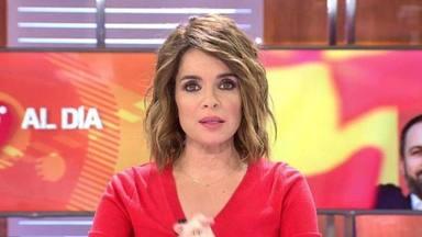 Carme Chaparro, muy molesta, se queja en redes de un incómodo momento que ha presenciado en el AVE