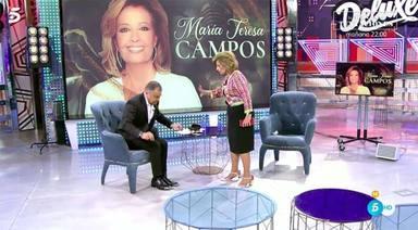 María Patiño estalla y pone en su sitio a María Teresa Campos por su actitud con Jorge Javier Vázquez
