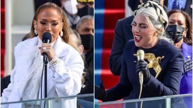Lady Gaga y Jennifer López emocionan a medio mundo con su canto a la libertad en la investidura de Joe Biden