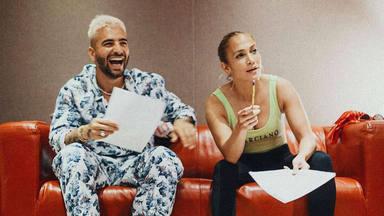 Maluma y Jennifer Lopez preparan una colaboración como aperitivo de la película 'Marry Me'