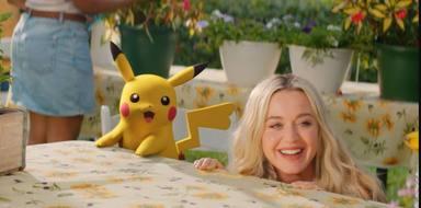 Así es cómo grabó Katy Perry el videoclip de 'Electric' en colaboración con Pokémon