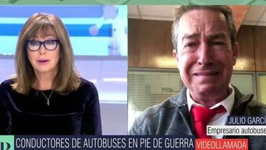 Ana Rosa Quintana rompe a llorar tras las desgarradoras palabras de un conductor de autobuses