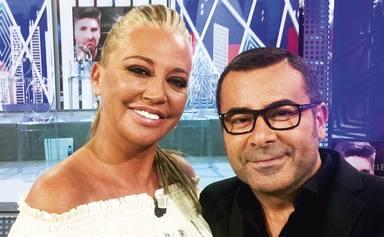 El corte de Belén Esteban a Jorge Javier Vázquez que deja en shock a sus compañeros: Te lo dije una vez