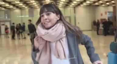El mal trago de Aitana y Miguel Bernardeau nada más llegar a Madrid procedentes de Milán