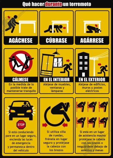 En MegaStar Morning Show te damos las instrucciones que debes seguir en caso de terremoto