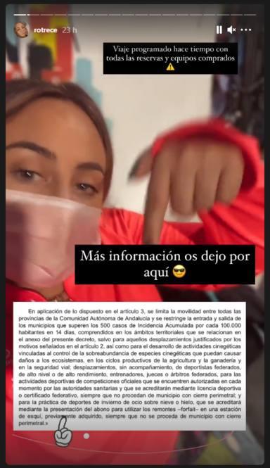 Rocío Flores habla alto y claro sobre la supuesta ilegalidad por la que está siendo acusada en redes