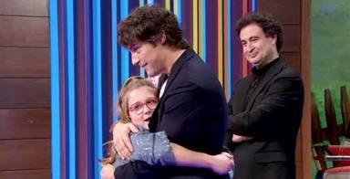 La tierna carta de amor de Jordi Cruz a una de las concursantes de 'MasterChef Junior 8'
