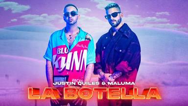 "Maluma lanza el tema del verano: ""la botella"" junto a Justin Quiles"