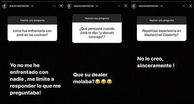 La tremenda rajada de Jesús Castro sobre Jordi Cruz y MasterChef Celebrity
