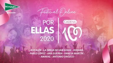 Gran cita con el Festival CADENA 100 Por Ellas 2020: música y solidaridad contra el cáncer de mama