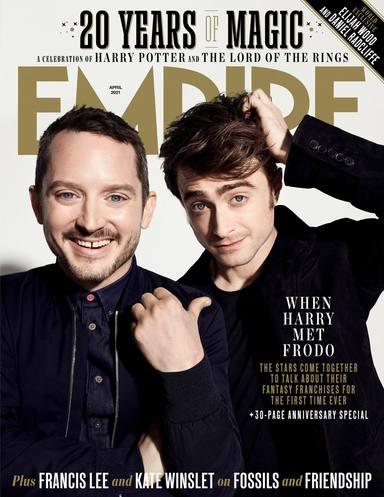 Portada de la Revista Empire de Abril (Elijah Wood y Daniel Radcliffe)