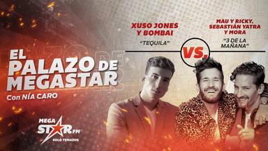 """¡Doblete para Xuso Jones y Bombai que se coronan de nuevo con """"Tequila"""" en El Palazo MegaStar!"""