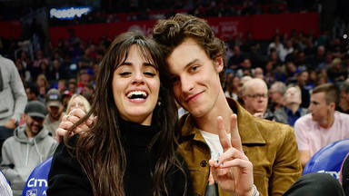Camila y Shawn NBA