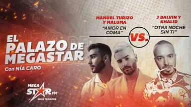 ¡Impresionante! Manuel Turizo y Maluma le arrebatan el trono a Dudi y se convierten en El Palazo de MegaStar